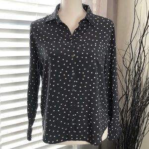 Loft Women's Long Sleeve Button Down.  SZ MP